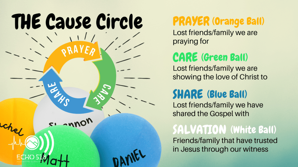 Cause Circle Ping Pong ball graphic